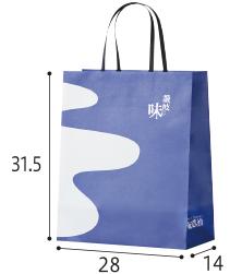 紙袋(大)80円(税込)