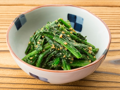 Horenso no Goma-ae (Spinach Dressed with Sesame)