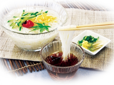 Somen (Thin White Wheat Noodles)