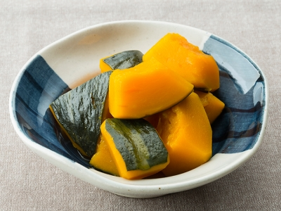 Kabocha no Nimono (Simmered Pumpkin)