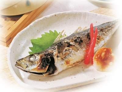 Grilled Fish with Ponzu Soy Sauce108