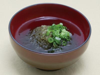 Tororo Kombu no Suimono (Shaved Kelp Soup)