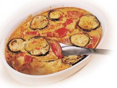 Baked Summer-Vegetable Omelet