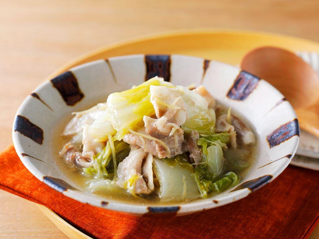 豚肉と白菜のあっさり煮
