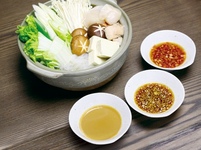 Three Types of Ponzu Sauce