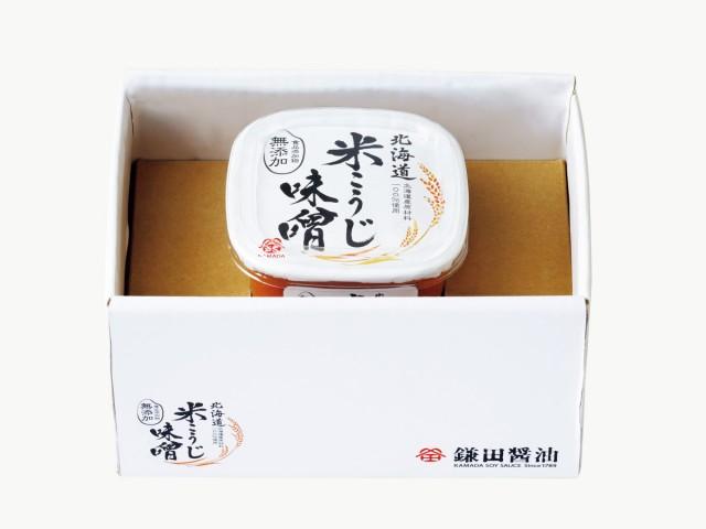 北海道 米こうじ味噌 500g 1ヶ入