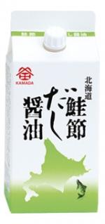 北海道 鮭節だし醤油 200㎖