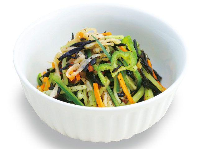 ひじきのピリ辛サラダ