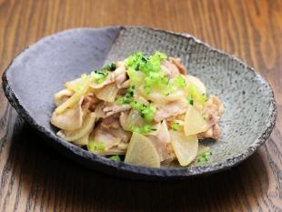 豚肉と大根の中華炒め
