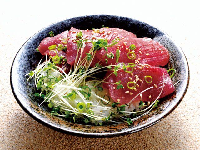 カマダ風マグロ丼