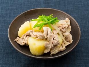 豚肉とじゃがいものゆずこしょう煮