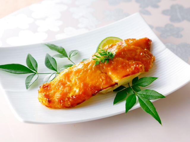 タイの味噌焼き