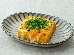 厚揚げのねぎチーズ焼き