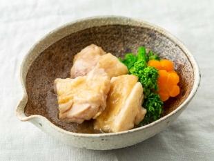 鶏と菜の花の治部煮