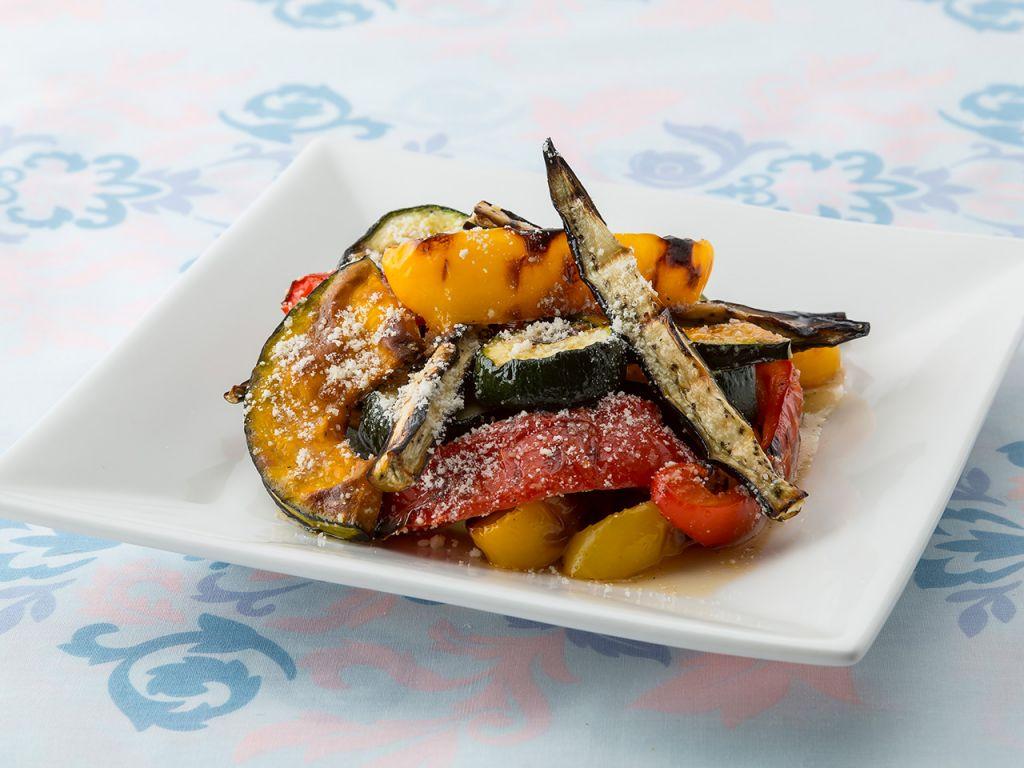 夏野菜のグリルマリネ