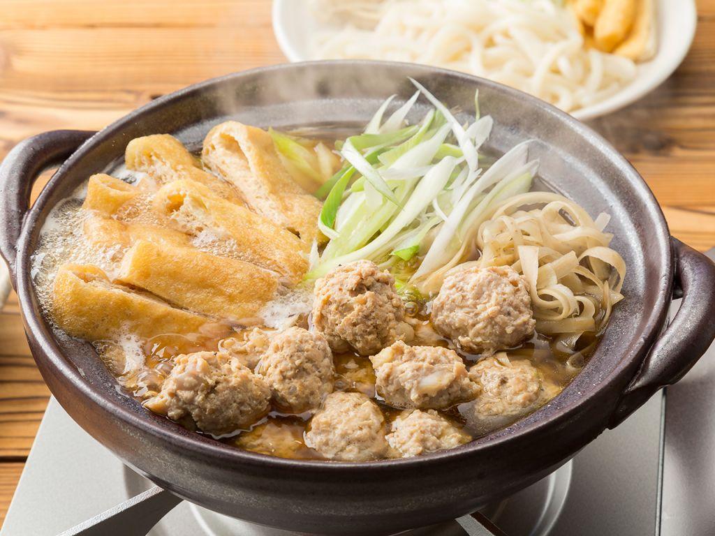 コリコリなんこつの鶏団子鍋
