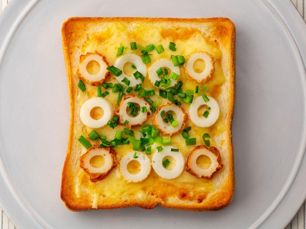 味噌マヨちくわトースト