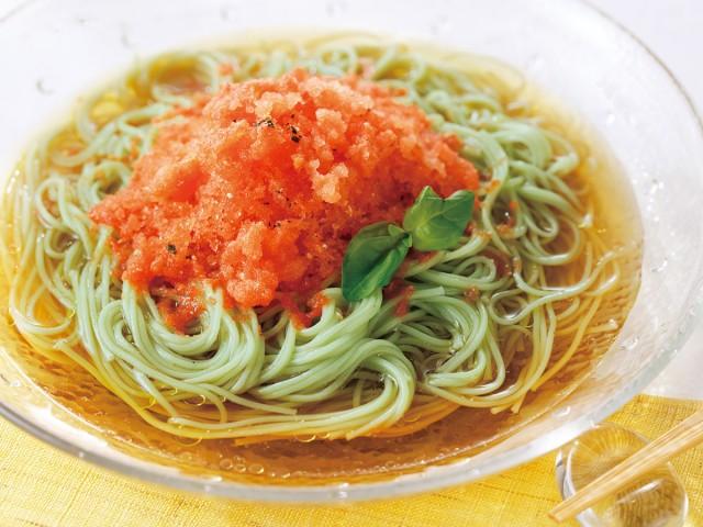 小豆島オリーブ素麺セット  調理イメージ