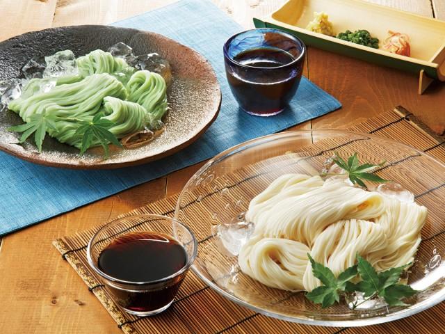 素麺と夏五色 調理イメージ