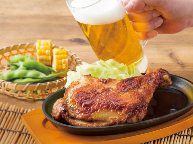 骨付鶏セット 調理イメージ