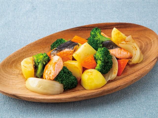 北海道 鮭節だし醤油 調理イメージ