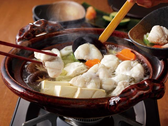 ※調理瀬戸内海産 天然ふぐ 讃岐でんぷく鍋セット 調理イメージイメージです