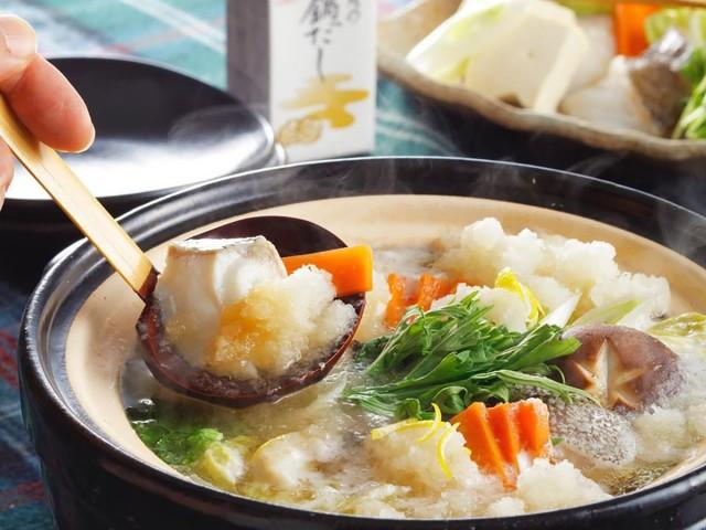 貝の鍋だし 調理イメージ